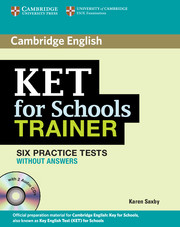 KET for Schools Trainer Elementary