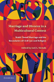 Marriage and Divorce in a Multi-Cultural Context