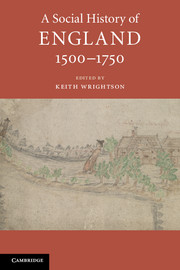 A Social History of England, 1500–1750
