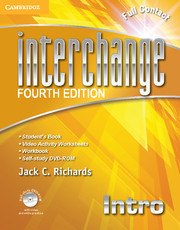 Interchange Intro Full Contact with Self-study DVD-ROM