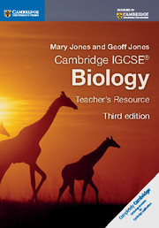 Cambridge IGCSE® Biology Teacher's Resource CD-ROM
