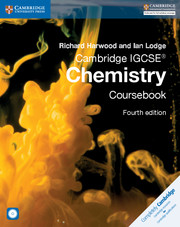 Cambridge IGCSE® Chemistry Coursebook with CD-ROM