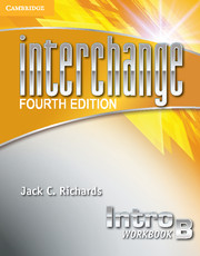 Interchange Intro Workbook B