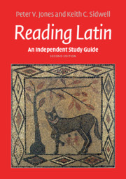 Reading latin text and vocabulary 2nd edition | Classical languages