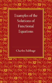 Examples of the Solutions of Functional Equations