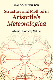 Structure and Method in Aristotle's <I>Meteorologica</I>