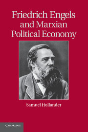 Friedrich Engels and Marxian Political Economy