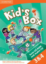 Kid's Box Levels 3–4 Tests CD-ROM and Audio CD