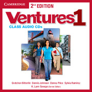 Ventures Level 1 Class Audio CDs (2)