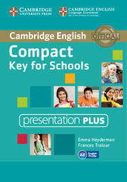 Compact Key for Schools Presentation Plus DVD-ROM