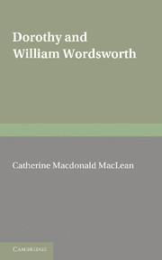 Dorothy and William Wordsworth
