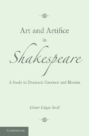 Art and Artifice in Shakespeare