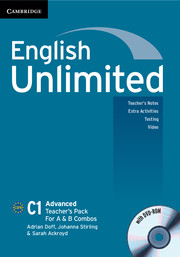English Unlimited Advanced A and B