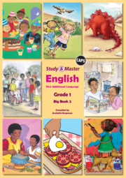 Study & Master English FAL Big Book 2 Grade 1
