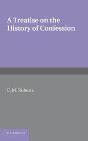 A Treatise on the History of Confession