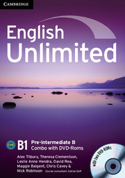English Unlimited Pre-intermediate B