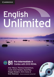 English Unlimited Pre-intermediate A