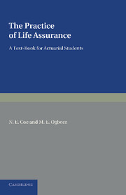 The Practice of Life Assurance