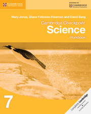 Cambridge Checkpoint Science Workbook 7