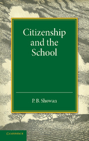Citizenship and the School