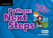 Python: Next Steps Cambridge Elevate enhanced edition (Institution Subscription)