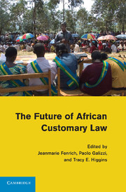 The Future of African Customary Law