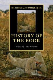 Image result for The Cambridge Companion to the History of the Book edited by Leslie Howsam