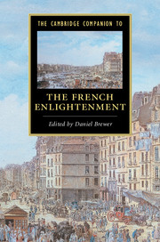 The Cambridge Companion to the French Enlightenment