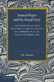 Samuel Pepys and the Royal Navy