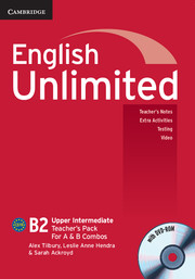 English Unlimited Upper Intermediate A and B