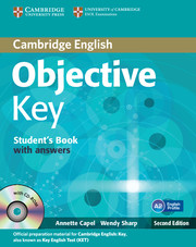 Objective Key Student's Book with Answers with CD-ROM