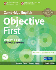 Cambridge English Objective First Students Book