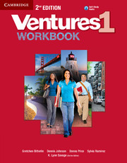 Ventures Level 1 Workbook with Audio CD