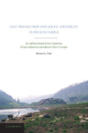 Salt Production and Social Hierarchy in Ancient China