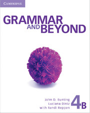 Grammar and Beyond Level 4 Student's Book B, Online Grammar Workbook, and Writing Skills Interactive Pack
