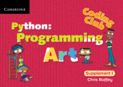 Python: Programming Art Cambridge Elevate enhanced edition (Institution Subscription)