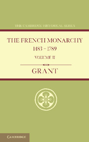 The French Monarchy 1483–1789