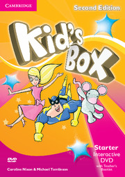 Kid's Box Starter Interactive DVD (NTSC) with Teacher's Booklet