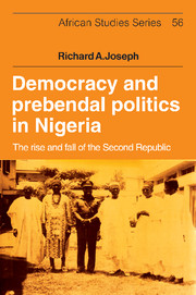 Democracy and Prebendal Politics in Nigeria