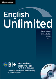 English Unlimited Intermediate A and B