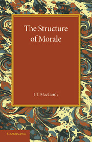 The Structure of Morale