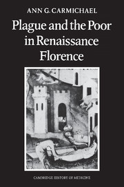 Plague and the Poor in Renaissance Florence