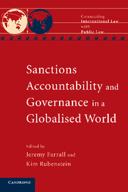 Sanctions, Accountability and Governance in a Globalised World