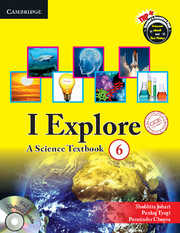 I Explore Level 6 Student Book with CD-ROM CCE Edition