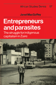 Entrepreneurs and Parasites