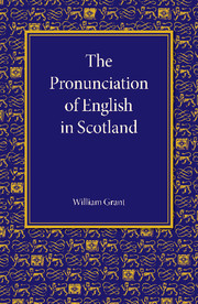 The Pronunciation of English in Scotland