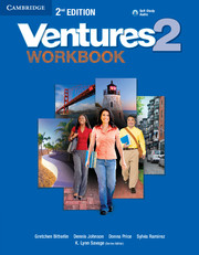 Ventures Level 2 Workbook with Audio CD