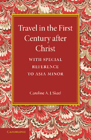 Travel in the First Century after Christ