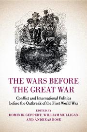 The Wars before the Great War