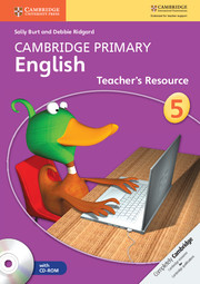 Cambridge Primary English Stage 5 Teacher's Resource Book with CD-ROM